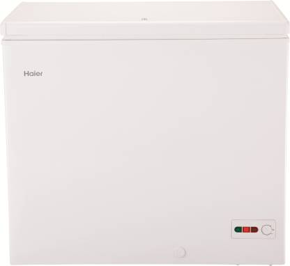 Haier 203 L Single Door Standard Deep Freezer  (White, HCC-230HC)