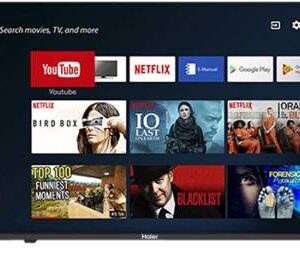 Haier 109 cm (43 inch) Full HD LED Smart Android TV  (LE43K6600GA)