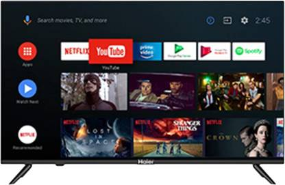 Haier 127 cm (50 inch) Ultra HD (4K) LED Smart Android TV (LE50K6600HQGA)