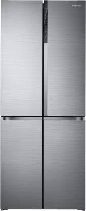 Samsung 594 L Frost Free Side by Side Convertible Refrigerator (Real Stainless, RF50K5910SL/TL)