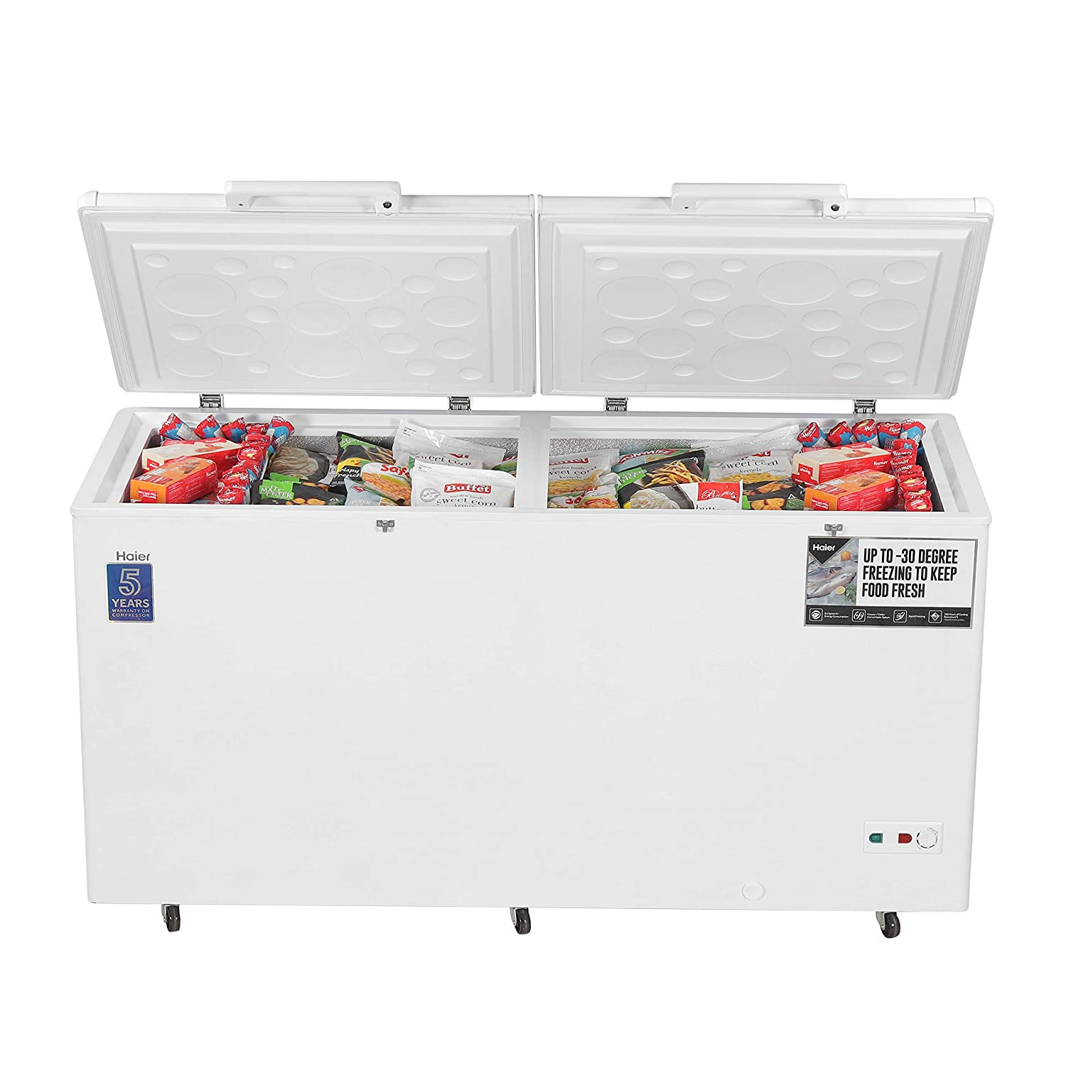 Haier HCC 460HC, Convertible, 429 liters, White