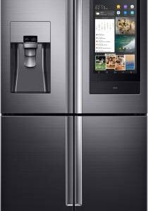 Samsung 810 L Frost Free Side by Side Inverter Technology Star (2019) Convertible Refrigerator with Four Door  (Black Caviar, RF28N9780SG/TL)