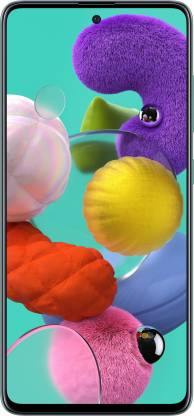 Samsung Galaxy A51 (Prism Crush Blue, 128 GB) (6 GB RAM)