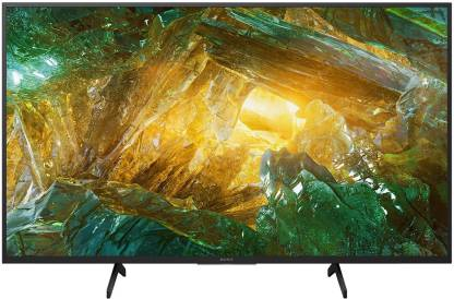 Sony 123 cm (49 inch) Ultra HD (4K) LED Smart Android TV  (KD-49X8000H)