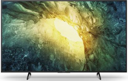 Sony 138.8 cm (55 inch) Ultra HD (4K) LED Smart TV  (KD-55X7500H)