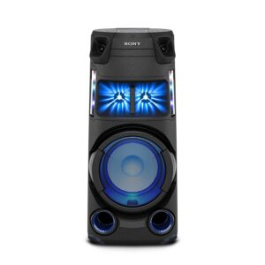 Sony MHC-V43D High Power Party Speaker with Bluetooth Technology (Karaoke,Gesture Control, Party Light) – Black
