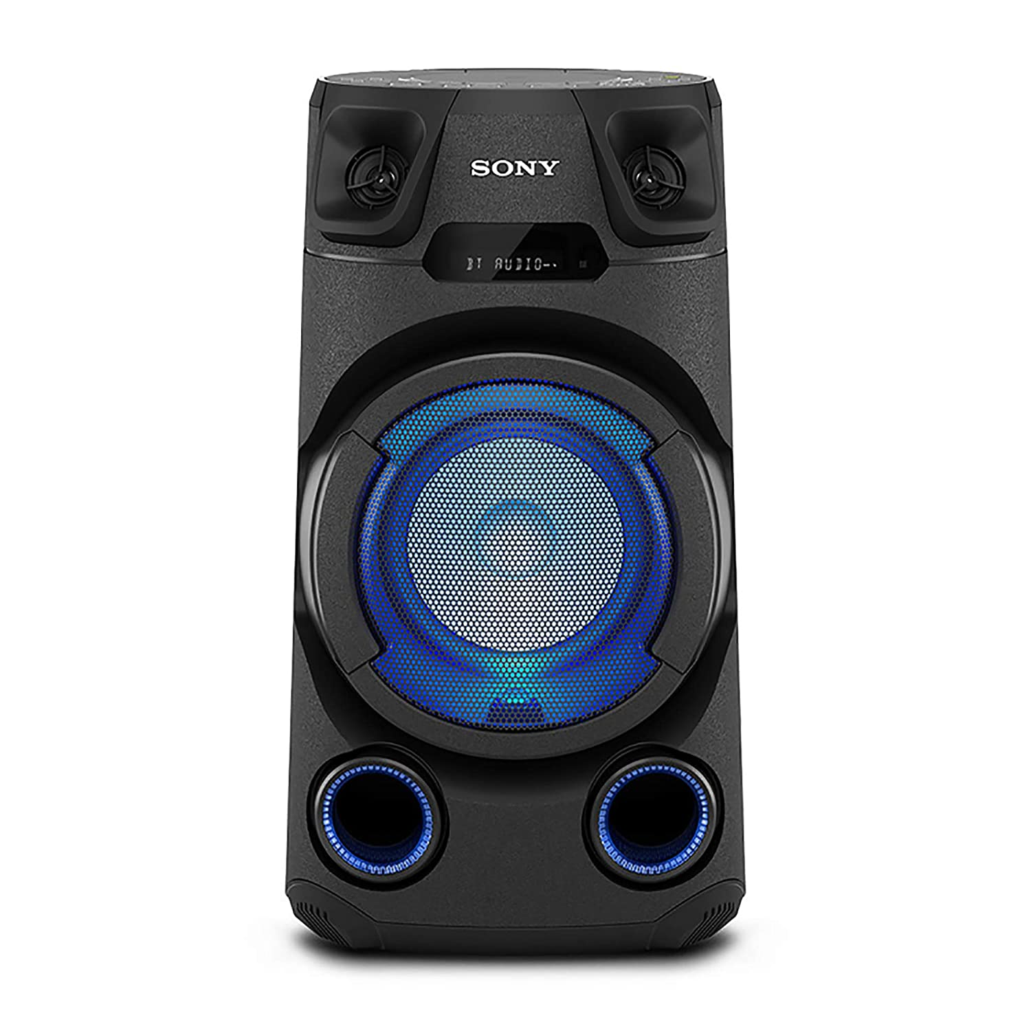 Sony MHC-V13 High Power Party Speaker with Bluetooth Technology (Karaoke,Speaker Light) – Black