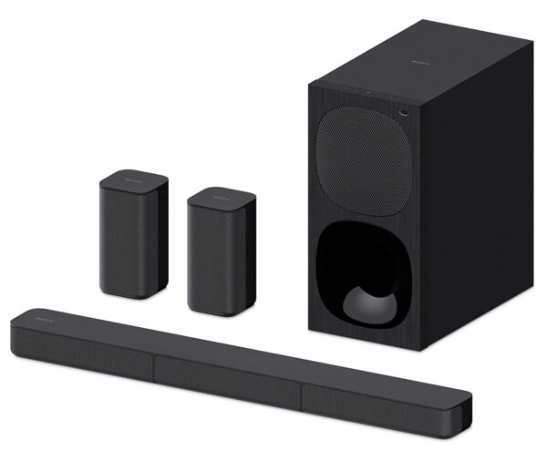 Sony HT-S20R 5.1ch Dolby Digital Soundbar Home Theatre System (400W,Bluetooth Connectivity) - Black