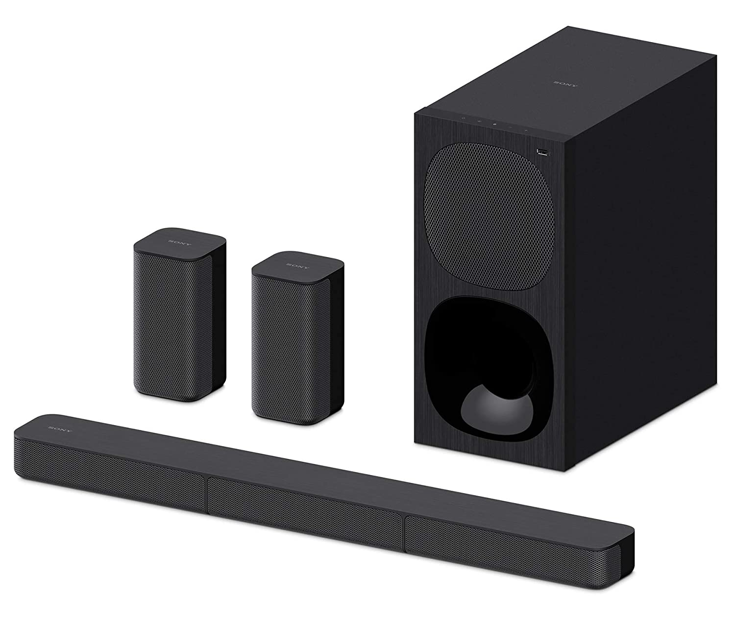 Sony HT-S20R 5.1ch Dolby Digital Soundbar Home Theatre System (400W,Bluetooth Connectivity) – Black