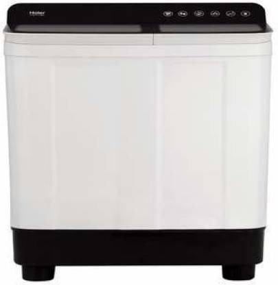 Haier 8.2 kg Semi Automatic Top Load Black, White  (HTW82-178BK)