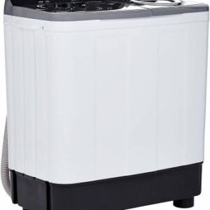 Haier 9.5 kg Semi Automatic Top Load Black, White, Grey  (HTW95-186S)