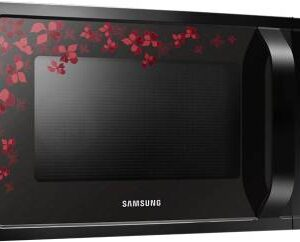 Samsung 28 L Convection Microwave Oven  (MC28H5025VB/TL, Black Sanganeri Pattern)