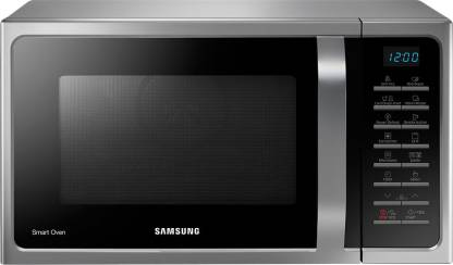 Samsung 28 L Convection Microwave Oven  (MC28H5025VS, Silver)