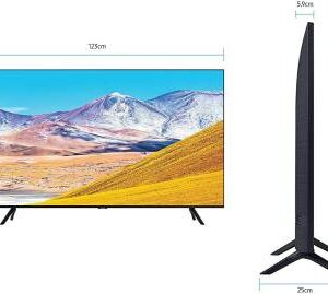 Samsung 139 cm (55 inch) Ultra HD (4K) LED Smart TV  (UA55TU8000KXXL)