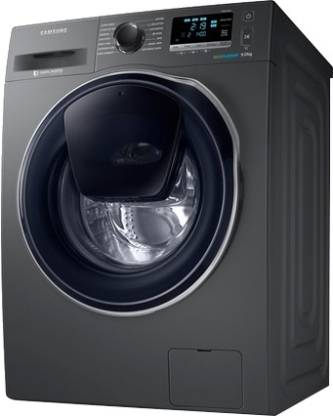 Samsung 9/6 kg For Complete Drying Washer with Dryer with In-built Heater Grey  (WD90K6410OX/TL)
