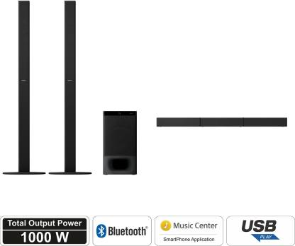 Sony HT-S700RF 1000 W Bluetooth Soundbar  (Black, 5.1 Channel)