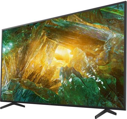 Sony 164 cm (65 inch) Ultra HD (4K) LED Smart Android TV  (KD-65X8000H)