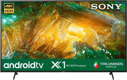 Sony X8000H 189 cm (75 inch) Ultra HD (4K) LED Smart Android TV  (KD-75X8000H)