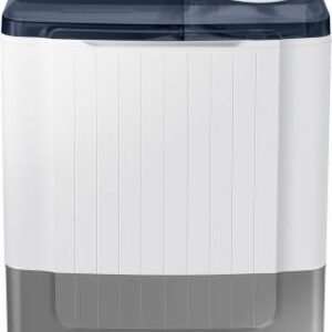 Samsung 8 kg Semi Automatic Top Load White, Grey  (WT80R4200LG/TL)