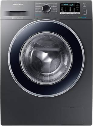 Samsung 8 kg Fully Automatic Front Load Grey (WW81J54E0BX/TL)
