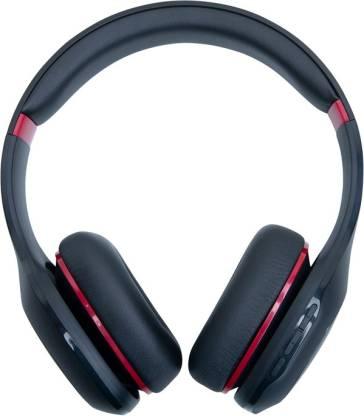 Mi Super Bass Bluetooth Headset  (Black, Red, On the Ear)