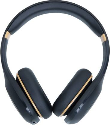 Mi Super Bass Bluetooth Headset  (Black, Gold, On the Ear)