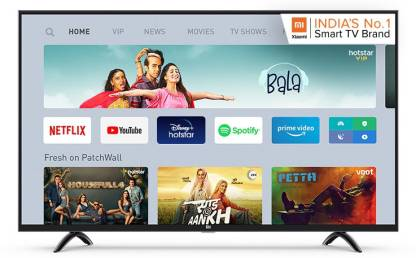 mi 4A Pro 108 cm (43 inch) Full HD LED Smart Android TV with With Google Data Saver