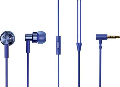Redmi by Mi Hi-Resolution Audio Wired Headset (Blue, In the Ear)