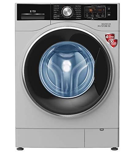 IFB 8 Kg Fully-Automatic Front Loading Washing Machine (Senator VXS 0812, Silver)