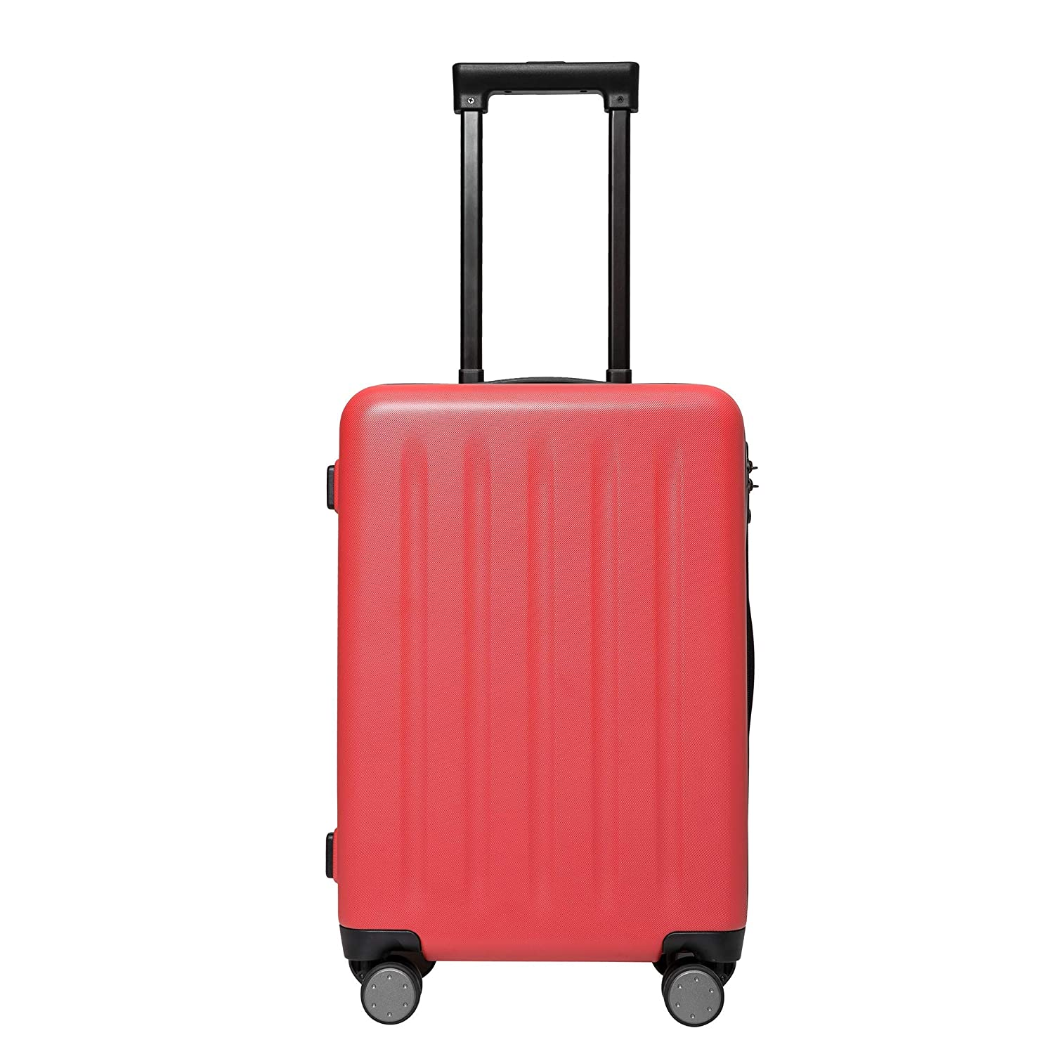 MI Polycarbonate Hardsided Cabin Luggage 20 (Red) – 55cms