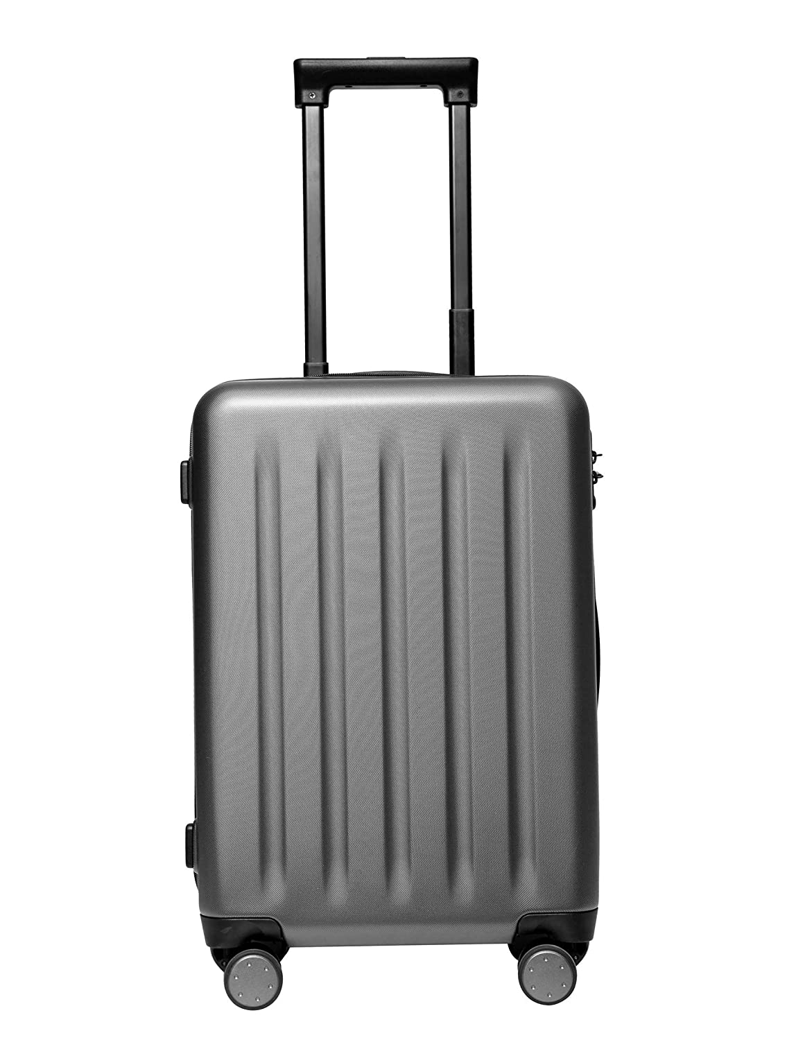 Mi Polycarbonate 24″ (61cms) Grey, Hardsided Check-in Luggage (XDLGX-02)