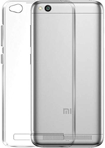 YOFO Soft Clear Flexible Back Cover For MI Redmi 5A