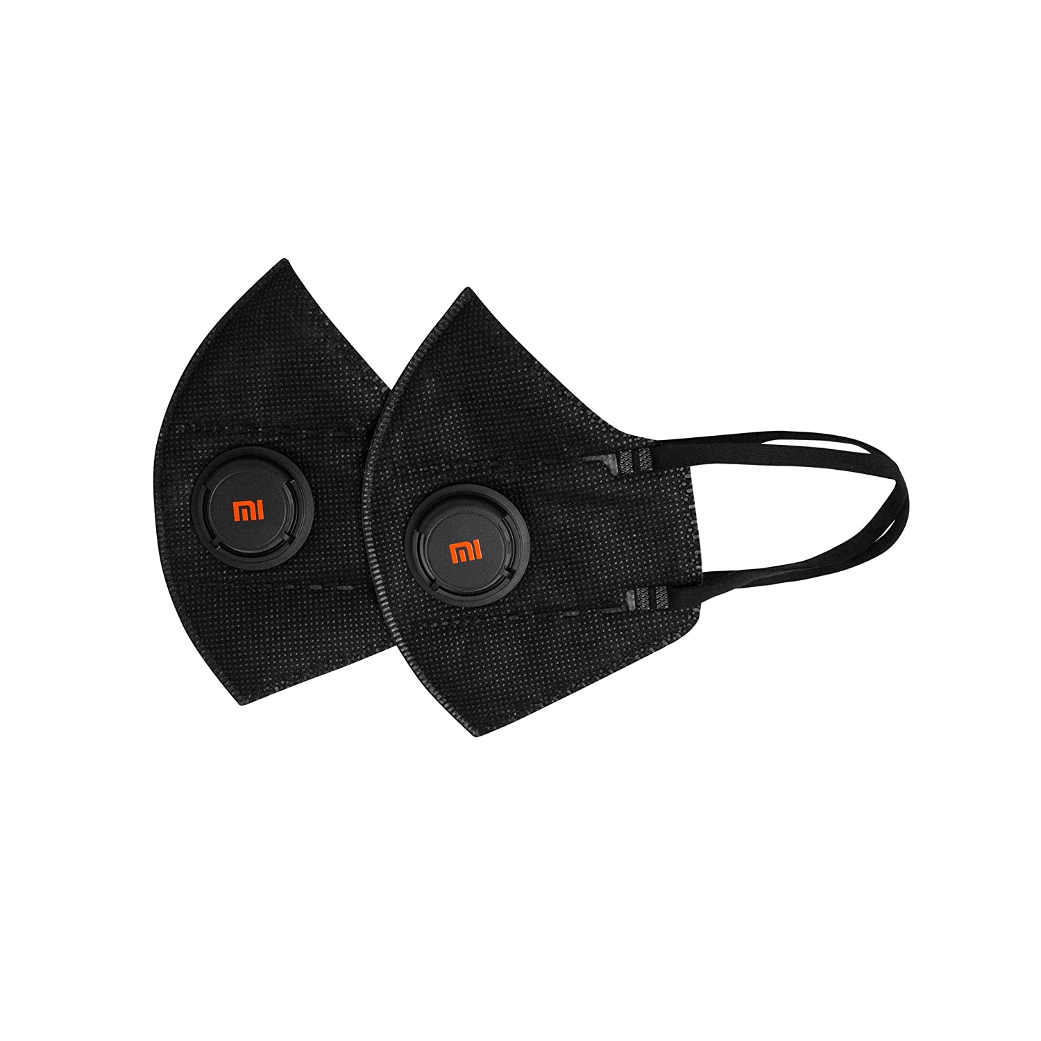Mi AirPOP PM2.5 Anti-Pollution Mask (Pack of 2), 99% PM2.5 protection With 4 Layer Filtration and Advanced Air Circulation Vent