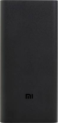 mi 20000 mAh Power Bank (Fast Charging, 18 W)  (Black, Lithium Polymer)