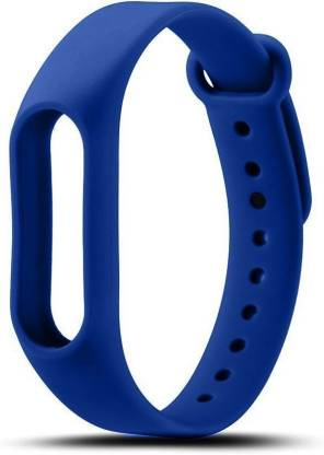 gettechgo Premium Quality Silicone Replacement Smart Band Strap  (Blue)