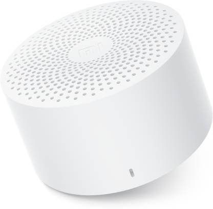 mi Compact 2 W Bluetooth Speaker  (White, Mono Channel)