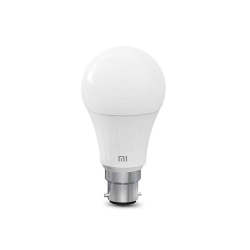 MI Smart LED Bulb – Adjustable Brightness + B22 Base+ Compatible with Amazon Alexa and Google Assistant (White)