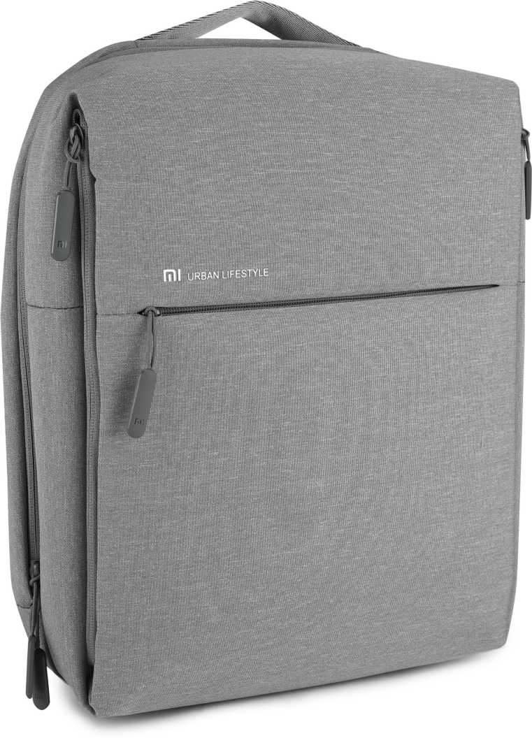 Small 16 L Laptop Backpack City  (Grey)