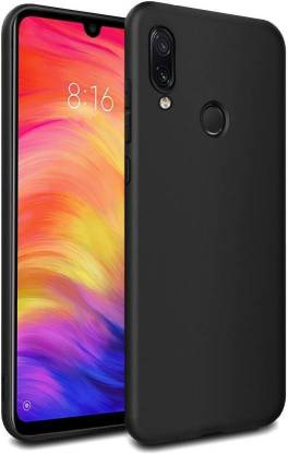 DSCASE Back Cover for Mi Redmi Note 7 Pro, Mi Redmi Note 7, Mi Redmi Note 7S (Black, Shock Proof)