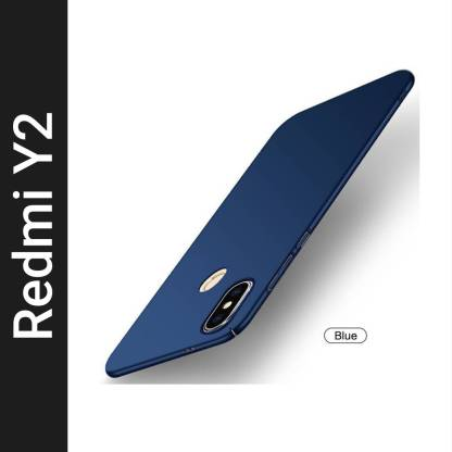 Wearit Back Cover for Mi Redmi Y2 (Blue, Shock Proof)