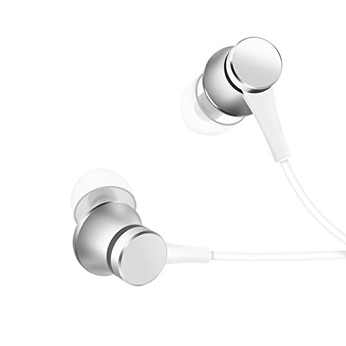 Mi Basic in-Ear Headphones with Mic (Matte Silver)