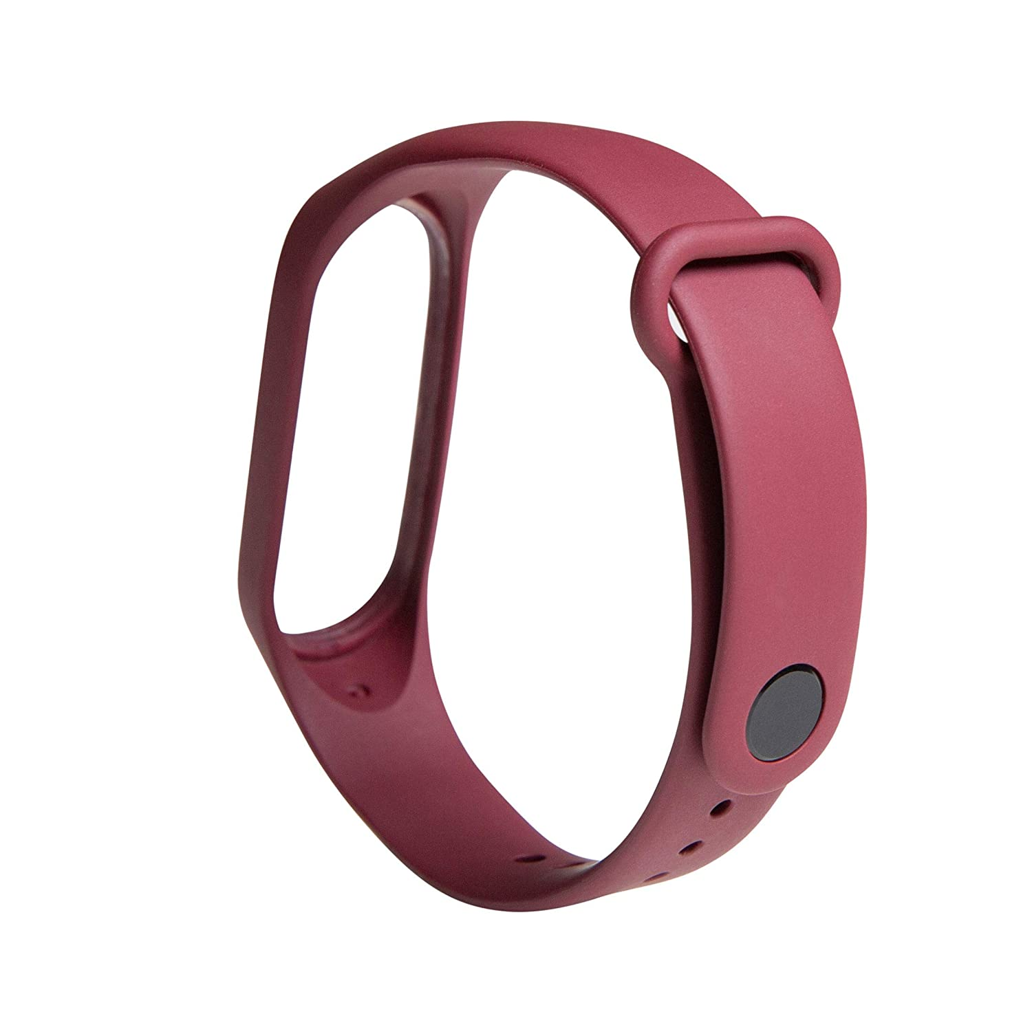 Mi Smart Band 4 Strap – Red (Also Compatible with Mi Band 3)