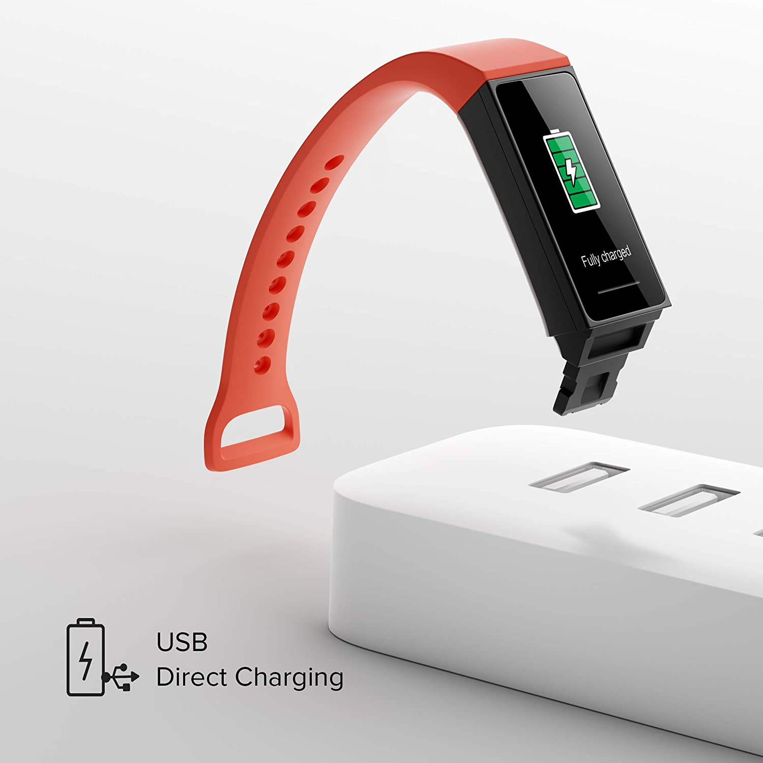 Redmi Smart Band – (Direct USB Charging, Full Touch Colour Display, Upto 14-Day Battery Life, Works with Xiaomi Wear App)