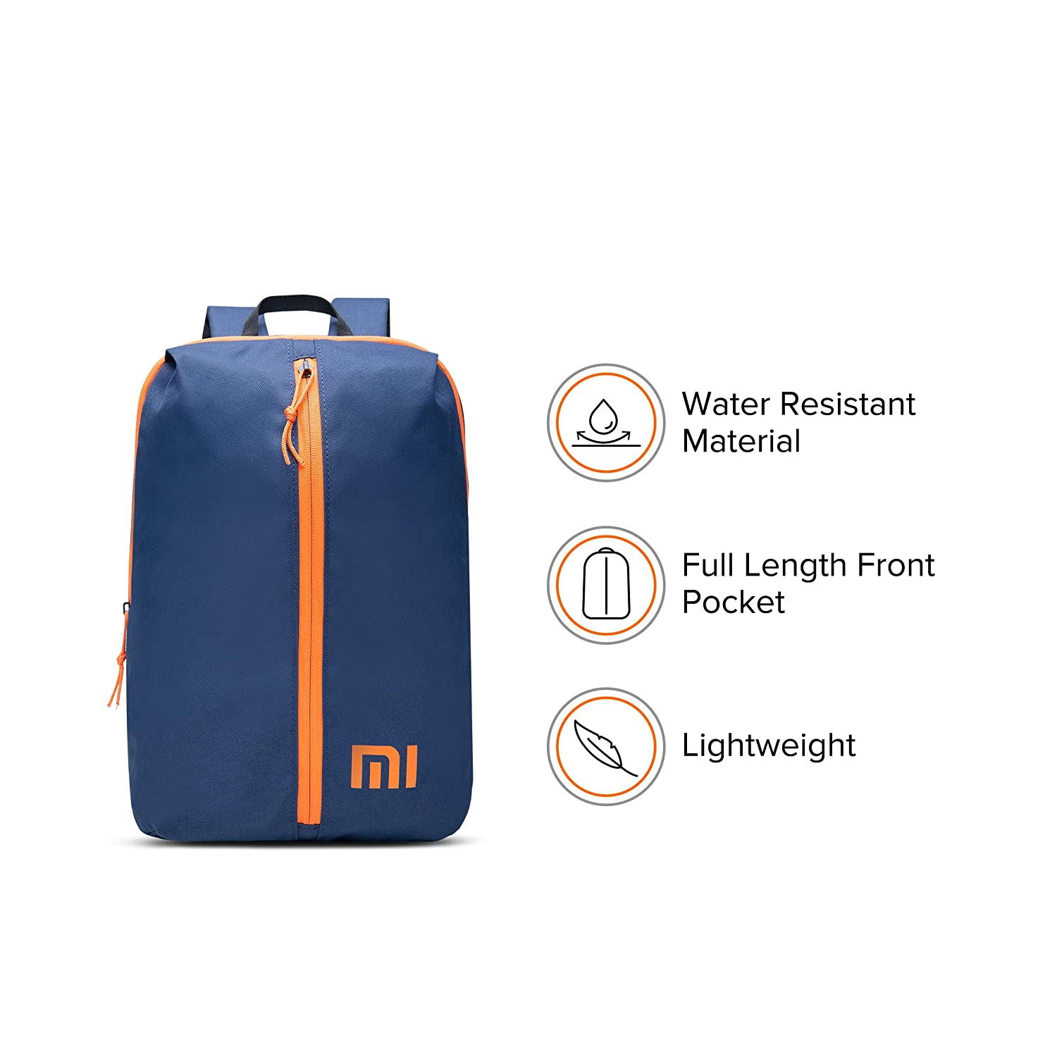 Mi Step Out 12 L Mini Backpack (Small Size, Dark Blue, Water Repellant)