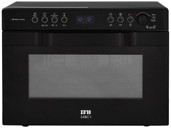 IFB 34 L Convection Microwave Oven (34BC1, Black, With Starter Kit)