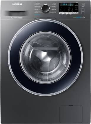 SAMSUNG 8 kg Fully Automatic Front Load with In-built Heater Grey  (WW80J54E0BX/TL)
