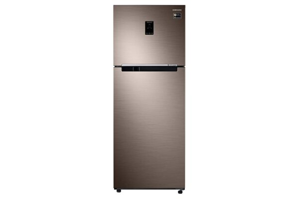 Samsung 411 L 2 Star Inverter Frost-Free Double Door Refrigerator (RT42R5588DX/TL, Refined Brown)
