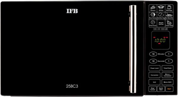 IFB 25 L Convection Microwave Oven (25BC3, Black)