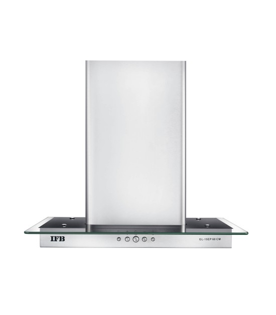 IFB GL-15EP 60cm Cooker Hood (Silver) Wall Mounting Chimney