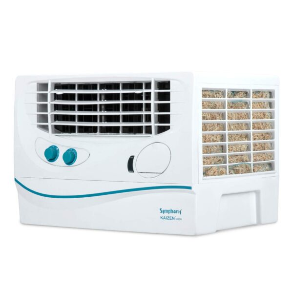 Symphony Kaizen 122 DB Window Desert Air Cooler 22-litres, with Extra-powerful Blower, 3-Side Cooling Pads, & Low Power Consumption (White)